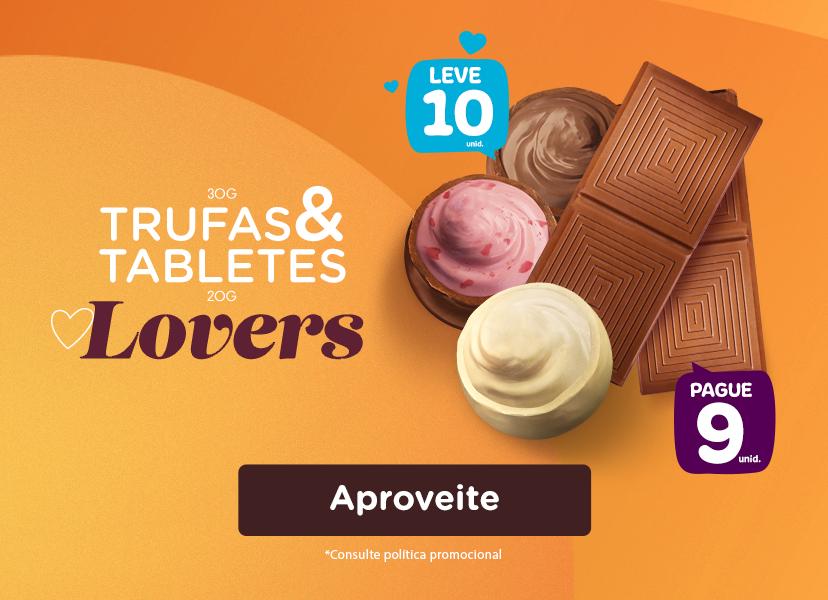 Banner Mobile - Trufas e Tabletes